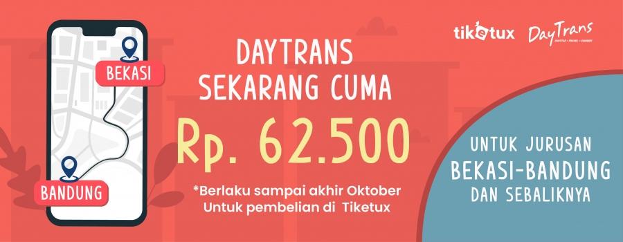 Daytrans Bandung Bekasi